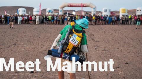 Marathon des sables - Mahmut Hilmi