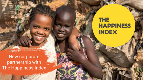 New corporate partnership with The Happiness Index3.