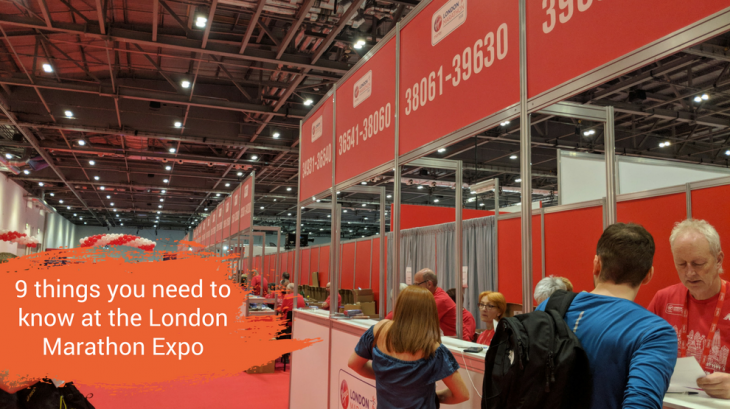 9 things you need to know at the London Marathon Expo