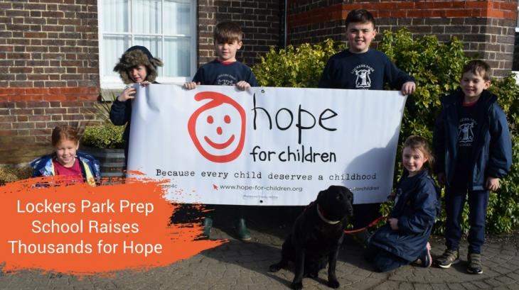 Locker's Park School Raises Thousands for Hope