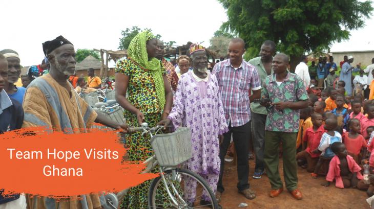 Team Hope Visits Ghana