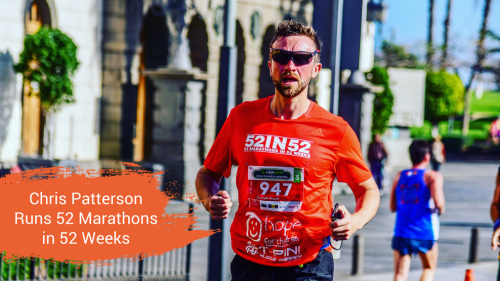 Chris Patterson Runs 52 Marathons in 2018